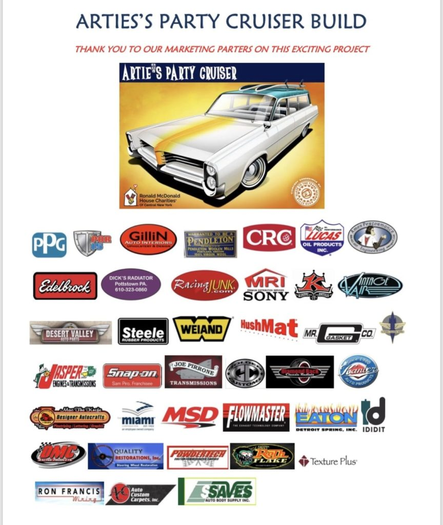 Bid on the Artie's Party Cruiser for Your Own Piece of History