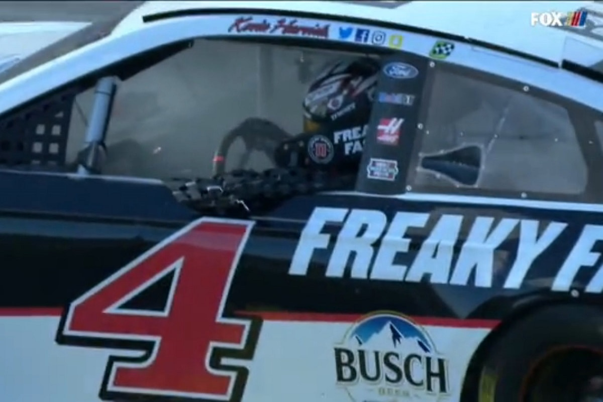 Busch, Larson and Harvick Dominate in NASCAR Vegas Races