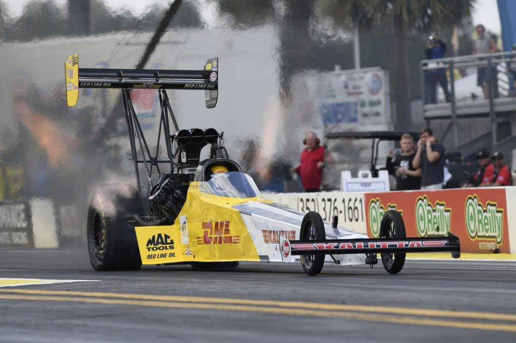 Explosion Rocks JFR, Thing Heat Up at NHRA Gatornationals