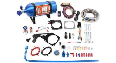Holley-NOS Releases Bolt-On Plate Kit for Mopar Engines
