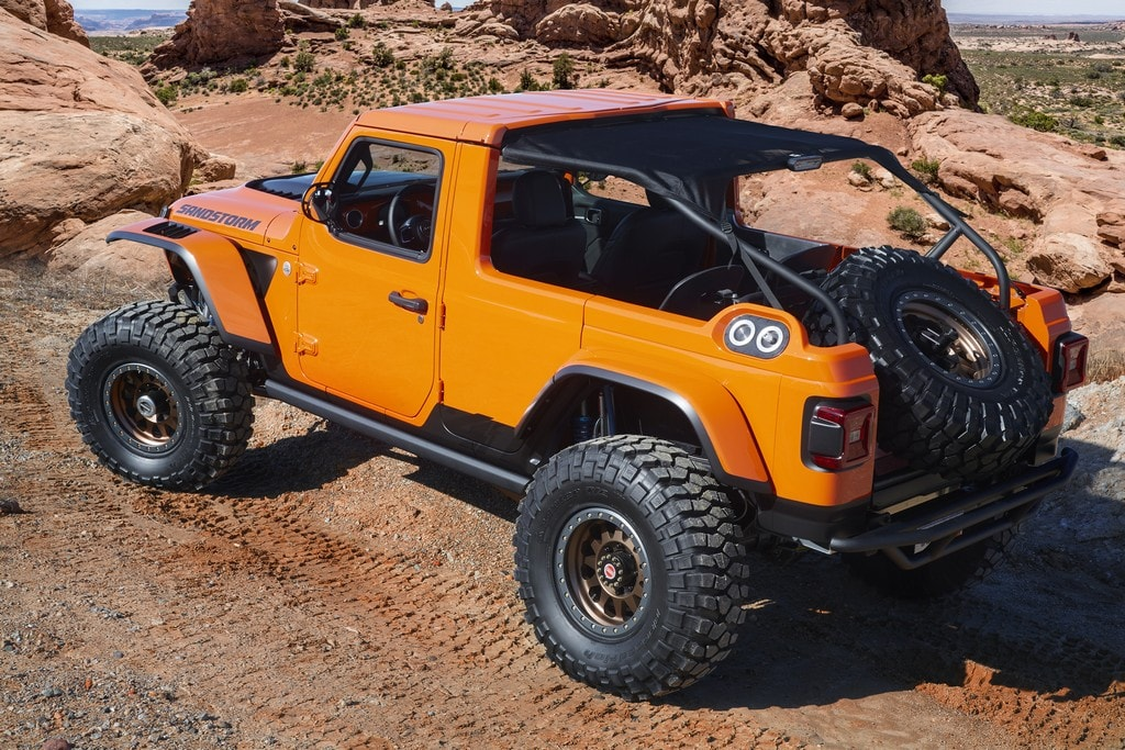 52nd Annual Moab Easter Jeep Safari Inspires Jeep® and Mopar Brands Concept Vehicles
