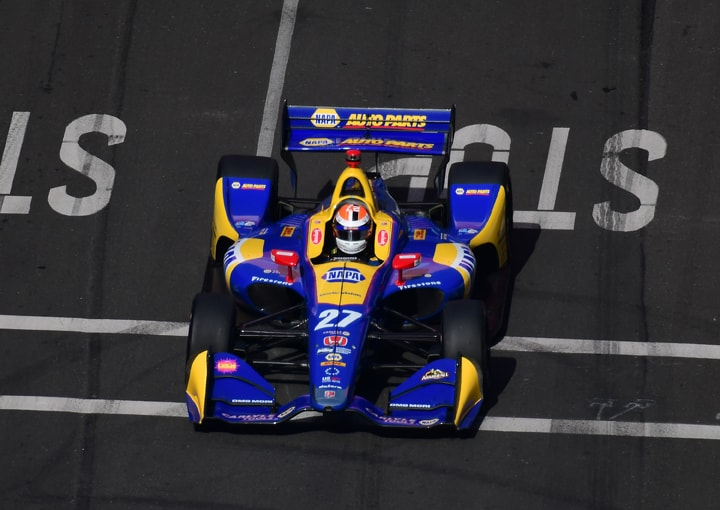 Rossi is INDYCAR's New Renaissance Racer