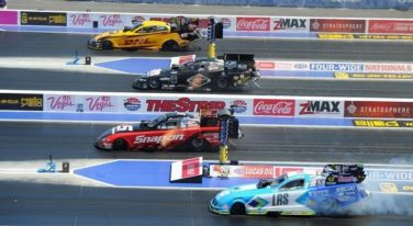Las Vegas NHRA Four-Wide Race a Successful Venture