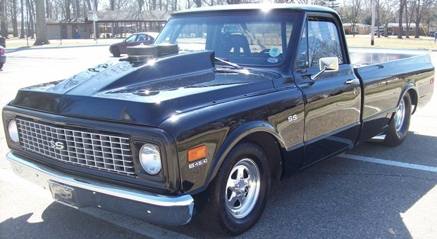 Today's Cool Car Find is this 1972 Chevrolet Pro Street Pickup