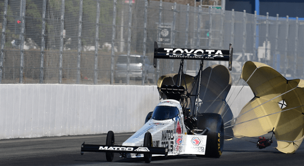 Brown's NHRA Houston Return Not What He Was Looking For