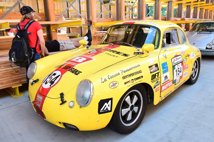 Celebrating Air-Cooled Porsches on a Sunday Morning