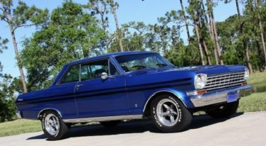Blue Flame '63 Nova