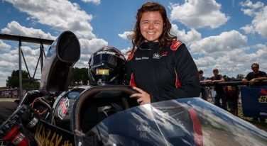 Jordan Vandergriff and Krista Baldwin Team Up for the NGK Spark Plugs 4-Wide Nationals