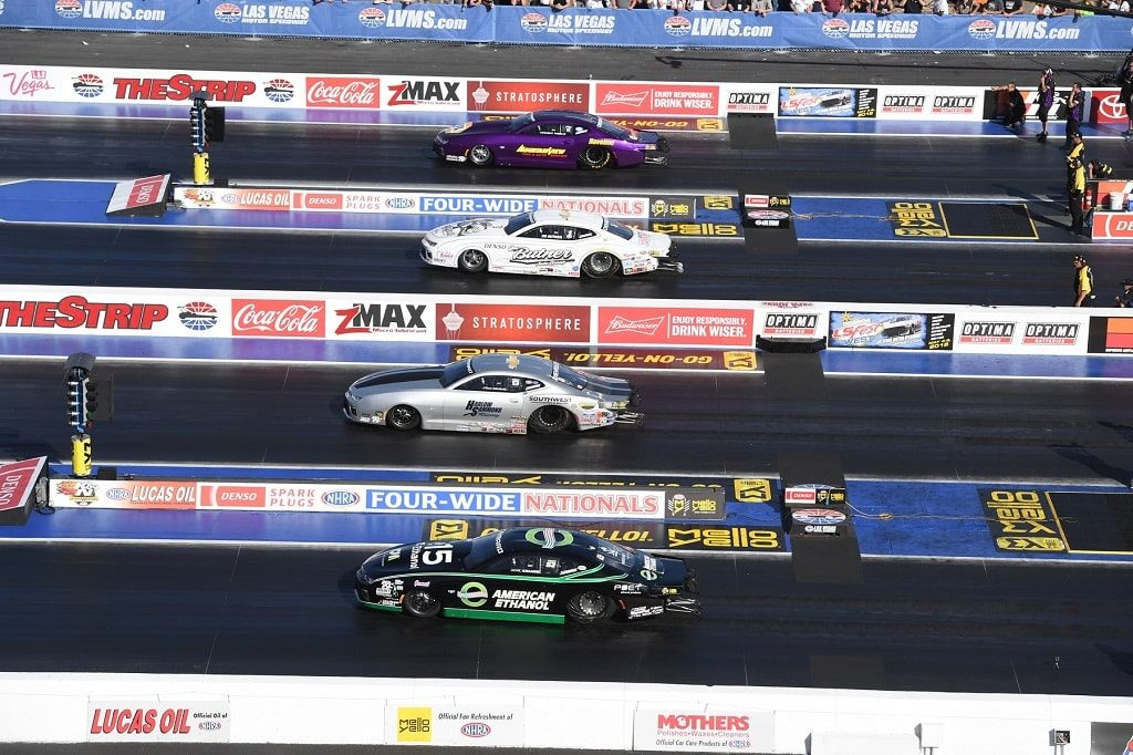 NHRA Winning Streaks Begin at Las Vegas Motor Speedway