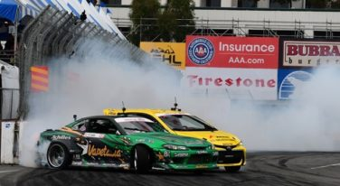 Aasbo Wins Formula Drift Opener at Long Beach
