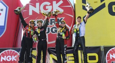 Record Breaking Weekend at NGK Spark Plugs NHRA Four-Wide Nationals