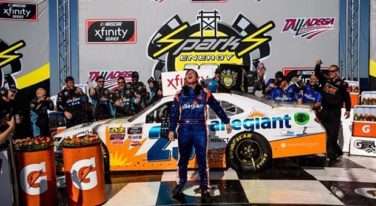 XFINITY Winner Gallagher Suspended Indefinitely as NASCAR Heads to Dover