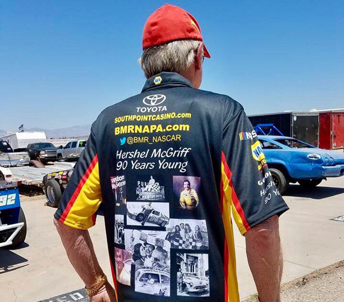 NASCAR Legend McGriff Takes the Wheel Again at Age 90