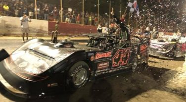 Chris Madden Earns Second Straight World of Outlaws Win