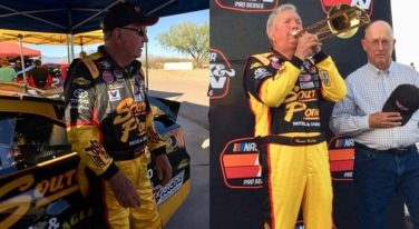 NASCAR Legend McGriff Takes the Wheel Again at Age 90