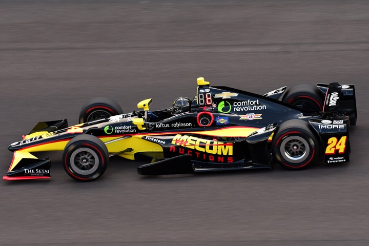 Indy Car Driver Karam Tries for Five
