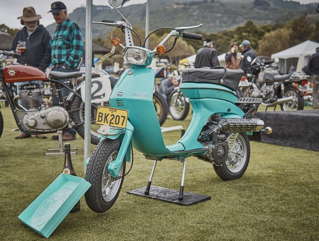 """Quail Motorcycle Gathering Names 1913 Flying Merkel Twin Named """"Best Of Show"""""""