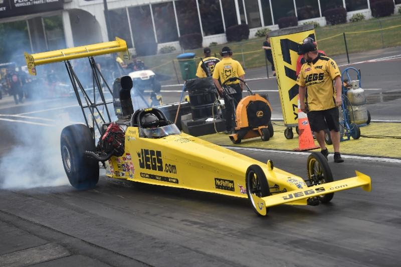 JEGS Top Alcohol Dragster