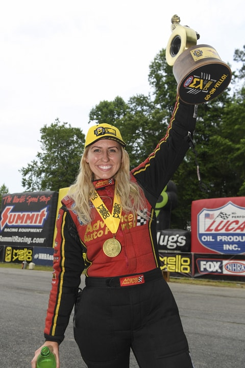 Courtney Force is On a Roll