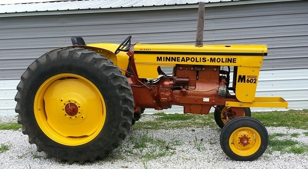 Today's Cool Car Find is this Minneapolis Moline M602 Diesel Pulling Tractor for $7,000