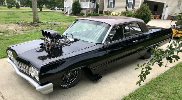 Today's Cool Car Find is this 1964 Chevrolet Impala SS for $45,000
