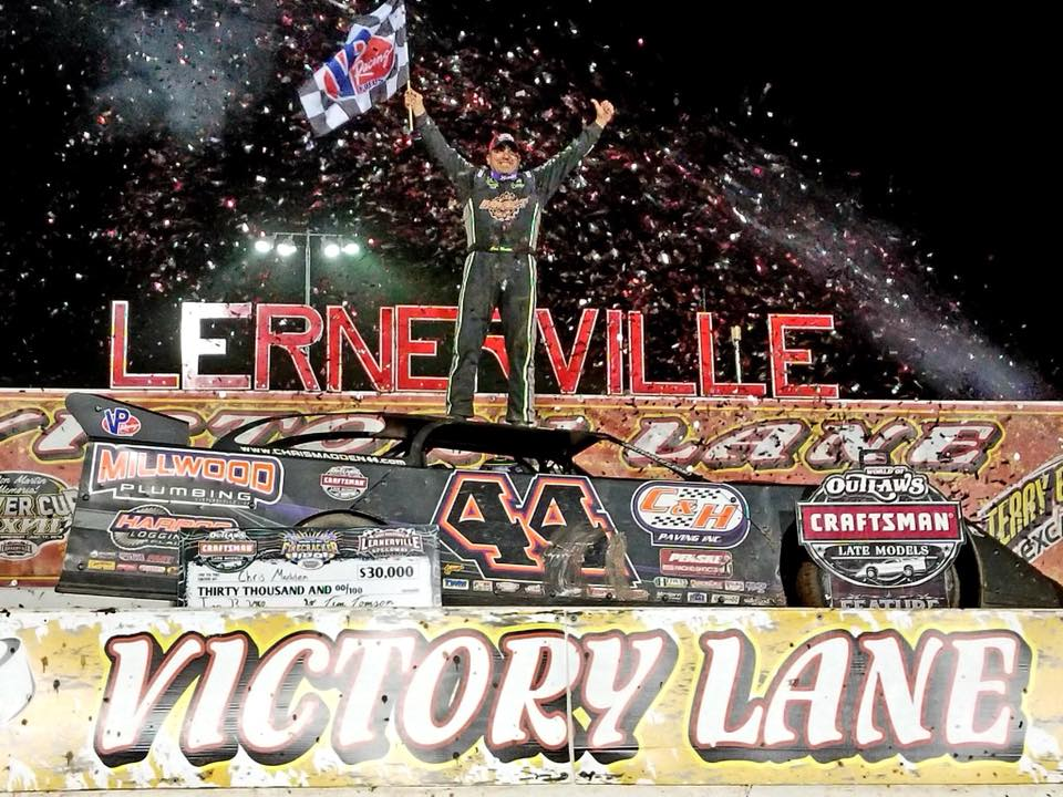 Chris Madden Dominates Firecracker 100 Weekend at Lernerville Speedway