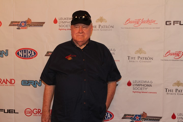 TomMcEwen at movie premiere, RIP, NHRA,