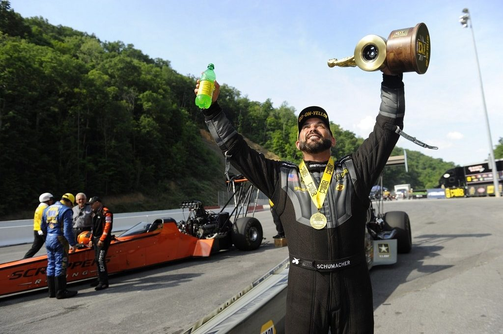Don Schumacher Racing Dominates at 2018 Fitzgerald USA NHRA Nationals