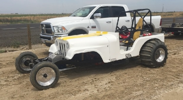 Today's Cool Car Find is this Sand Drag/Hillshooter Jeep for $10,000