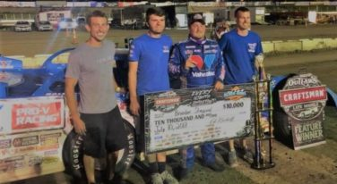Brandon Sheppard Collects Win No. 8 at Black Hills Speedway
