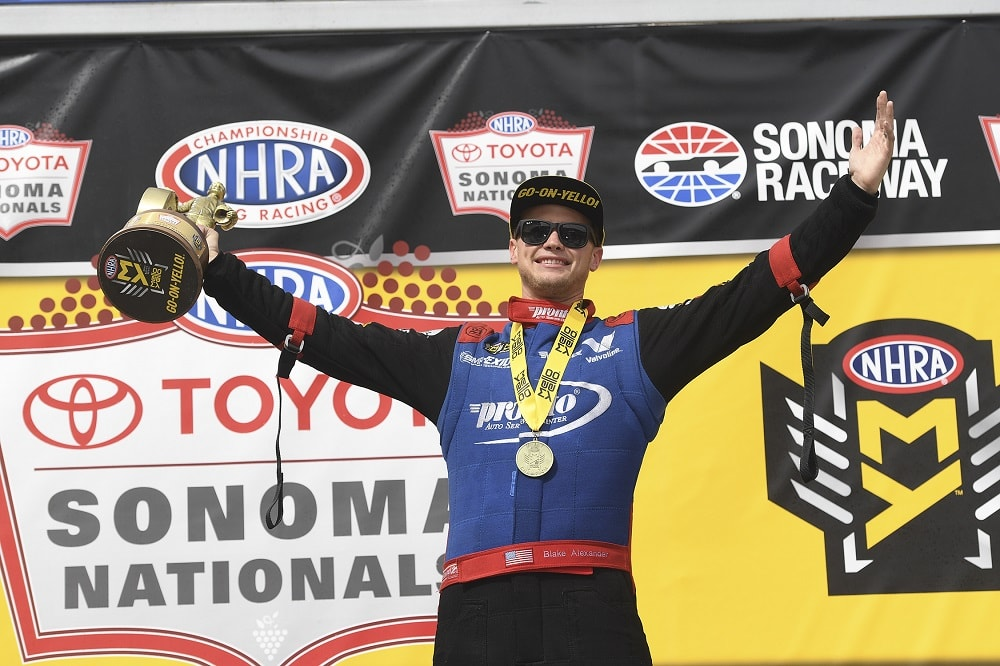 Drag Racing in Wine Country Leads to Wins in Front of Sellout Crowd