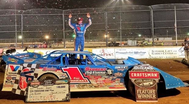 Brandon Sheppard Back on Top in Plymouth WoO Refrigerated 50