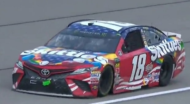 Moffit, Larson, Bush Dominate as NASCAR Takes On Chicagoland