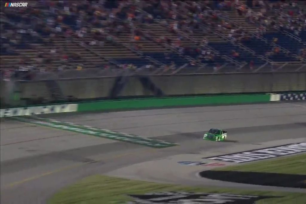 Rhodes, Bell and Truex Gallop Through NASCAR's Kentucky Stay