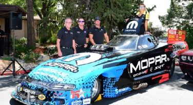 2019 Dodge Charger SRT Hellcat NHRA Funny Car Debuts at Dodge Mile-High NHRA Nationals