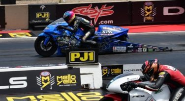NHRA Pro Bike Battle Has Tonglet Hungry - Again