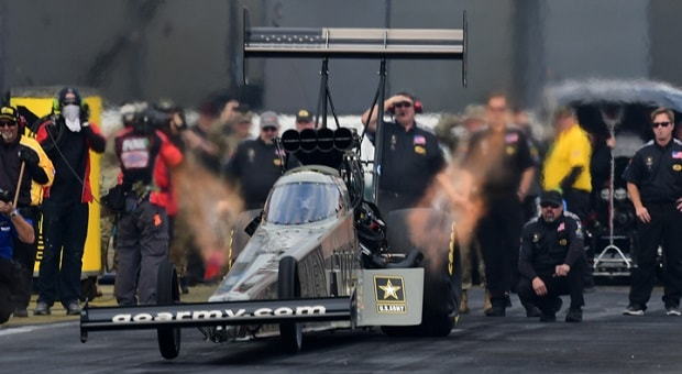 U.S. Army Departing NHRA and Don Schumacher Racing