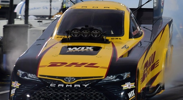 J.R. Todd On Driving a Funny Car