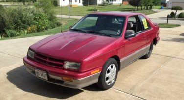Today's Cool Car Find is this 1993 Dodge Shadow for $10,995