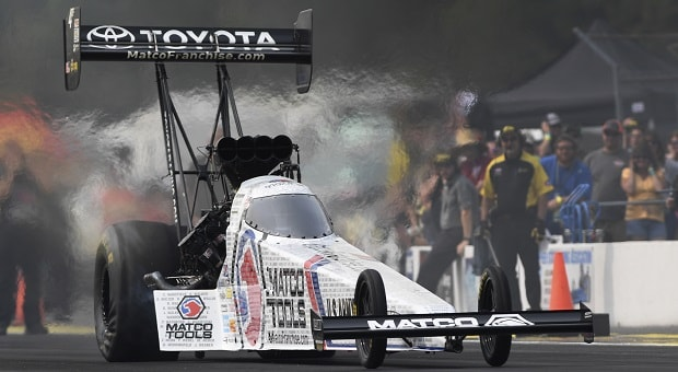 Testing at Indy for the Biggest NHRA Race of the Year