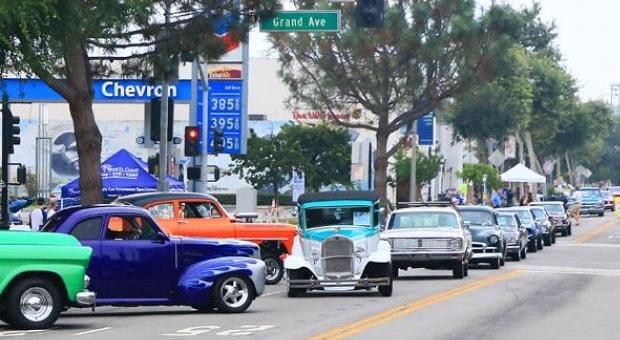 Gallery St Annual El Segundo Main Street Car Show RacingJunk News - Main street car show
