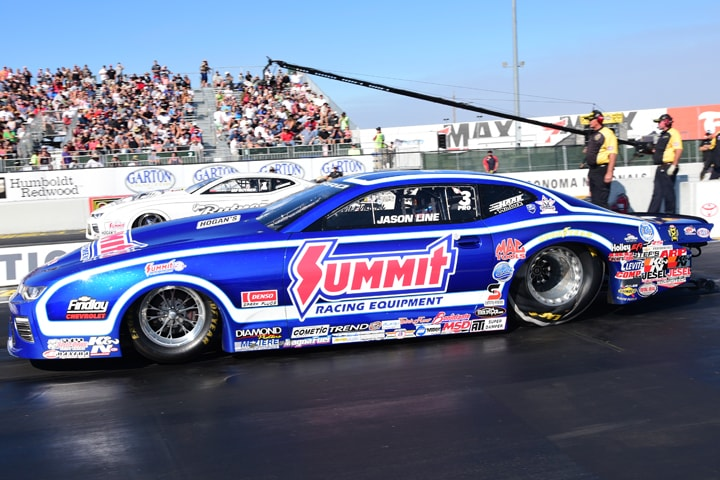 Summit Racing Equipment Re-Ups with KB Racing's NHRA Pro Stock Team