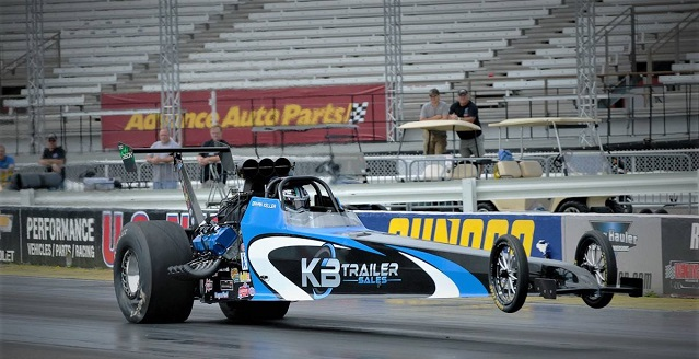 KB Race Trailers Top Alcohol Outlaw Dragster.