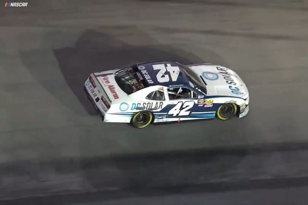 Sauter, Larson, and Busch Thunder Through NASCAR Bristol Races