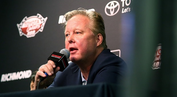 Brian France Gets Busted, Steps Down from NASCAR