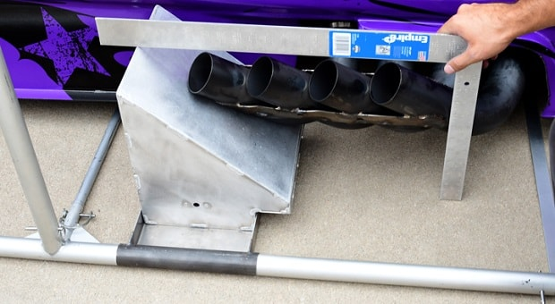 What's the Story with NHRA Funny Car Headers?