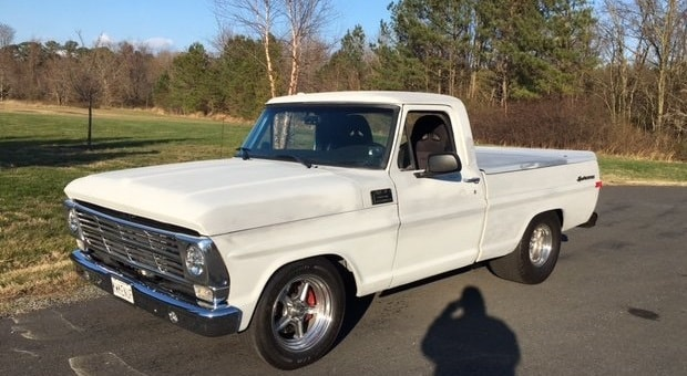 Today's Cool Car Find is this 1968 Ford F100 for $40,000