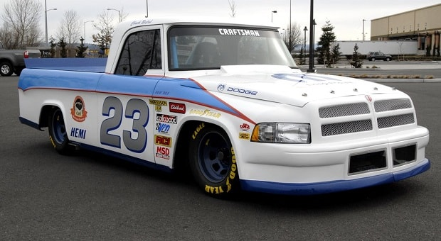 Today's Cool Car Find is this 1969/2002 Dodge Race Truck for $45,000