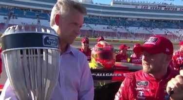 "Allgaier Wins NASCAR XFINITY ""Regular Season Title"" after Vegas Finish"