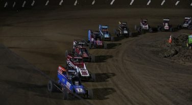 Bacon Sizzles at Indy Dirt Track